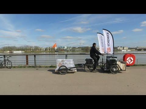 Lastenrad-Logistik mit Cargo Bikes von DB Schenker