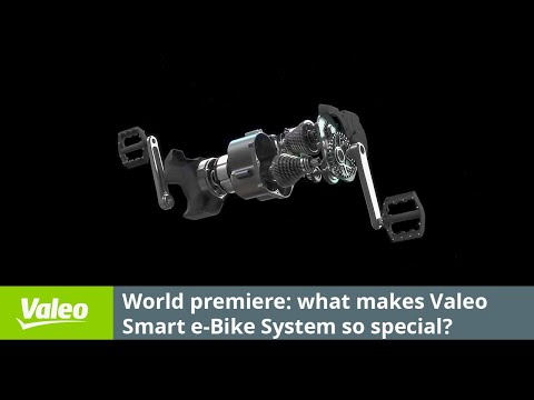 Reveal: Valeo Smart e-Bike System