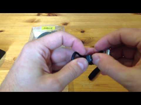Jabra Strom Bluetooth Headset unboxing
