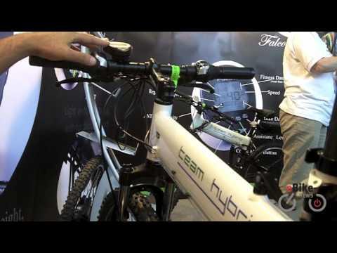 Falco e-motors: new ebike rear motor with wireless display