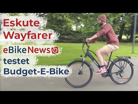 Eskute Wayfarer - günstiges E-Citybike im eBikeNews-Test