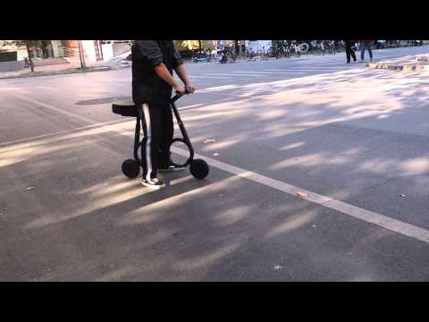 The worlds smallest folding e-bike