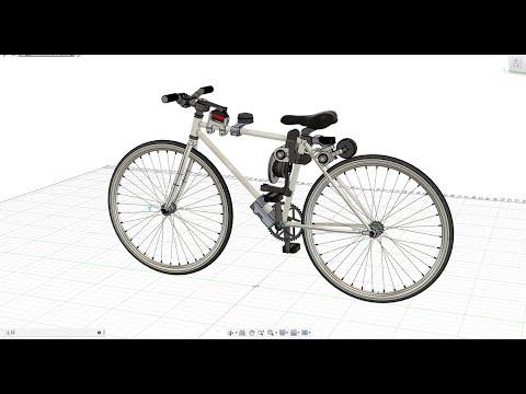 【自制】我把自行车做成了 自 动 驾 驶 !!【硬核】