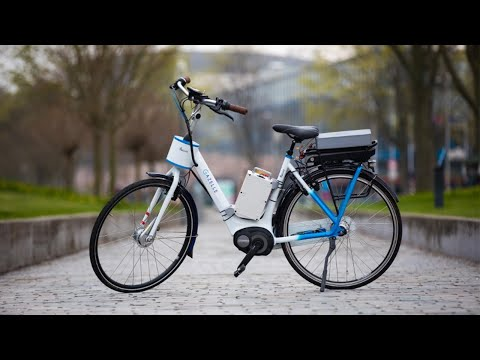 TU Delft - Smart motor in handlebars prevents bicycles from falling over