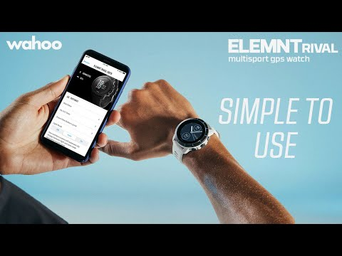 Wahoo ELEMNT RIVAL: Simple to Use