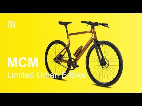 Urwahn Bikes x MCM - World's first luxury E-Bike - Fashion meets Technology made from 3D Printer