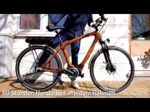 Das Bambuspedelec my Volta! Das Bambus E-Bike von my Boo.