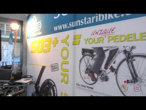 Sunstar ibike 03 Ebike-Kit / Nachrüstsatz - Centre Motor/Mittelmotor