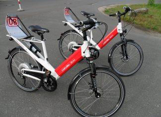 E-Bikes von der Deutschen Bahn