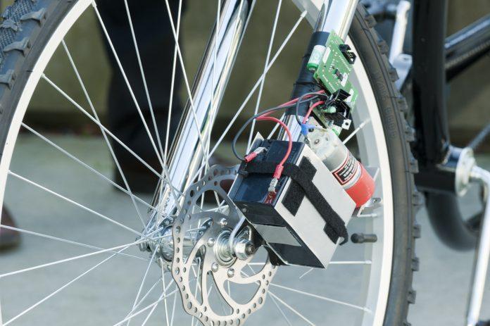 Konzept für drahtlose elektrische Fahrradbremse vorgestellt (Bilder ...