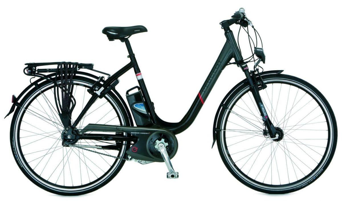 sechs neue e bikes von peugeot 2012 ebike. Black Bedroom Furniture Sets. Home Design Ideas