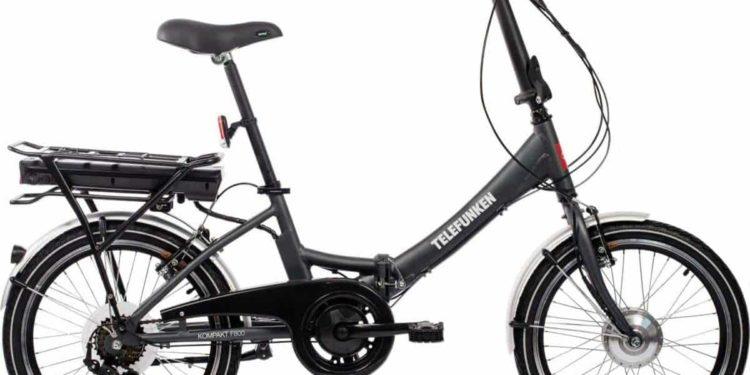 Telefunken F800 E-Bike Klapprad Totale