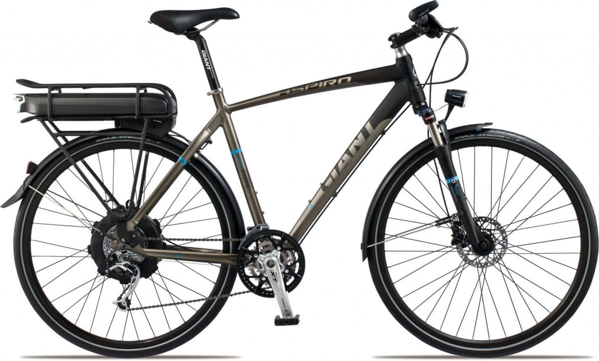 giant twist aspiro trekking e bike mit neuen komponenten f r 2013 ebike. Black Bedroom Furniture Sets. Home Design Ideas