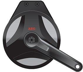 AEG-Mittelmotor für E-Bikes / Foto: AEG