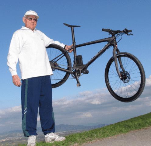 e bike mit 7 66 kg rentner entwickelt ultraleichtes e. Black Bedroom Furniture Sets. Home Design Ideas