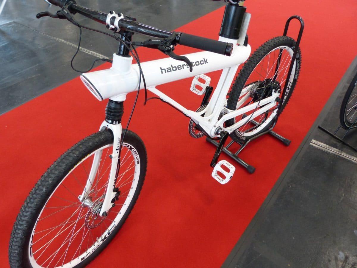 neuentwicklung schnelles e bike haberstock pen f hrt. Black Bedroom Furniture Sets. Home Design Ideas
