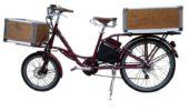 El ciclo Transport mit Kisten / Foto: El ciclo