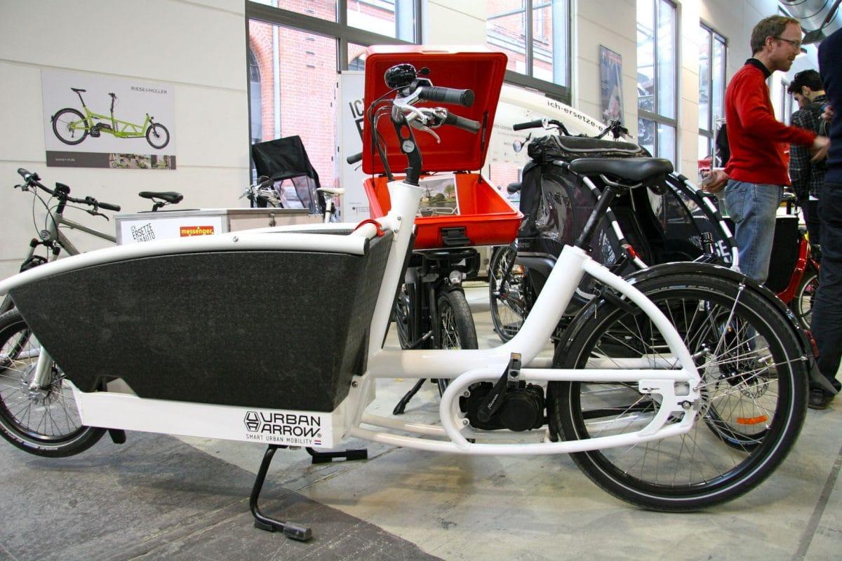 urban arrow lasten e bike ebike. Black Bedroom Furniture Sets. Home Design Ideas