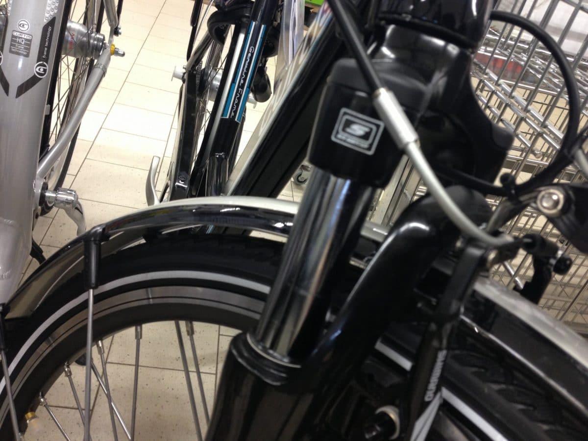 aldi nord e bike 2013 federgabel ebike. Black Bedroom Furniture Sets. Home Design Ideas