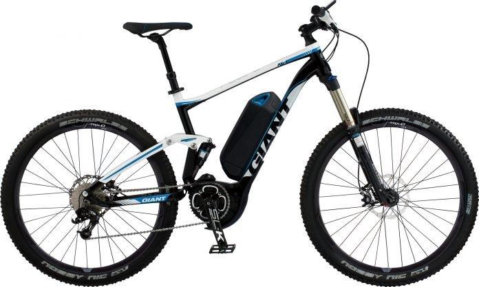 giant e bike neuheit 2014 full e 27 5 all mountain pedelec mit yamaha mittelmotor ebike. Black Bedroom Furniture Sets. Home Design Ideas