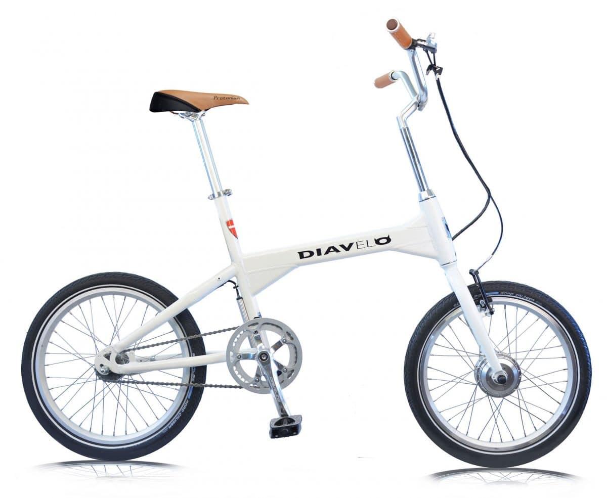 diavelo ubahn kompaktes e bike f r pendler mit akkusattel ebike. Black Bedroom Furniture Sets. Home Design Ideas