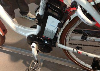 Panasonic Mittelmotor 2014: Akku und Tretlager