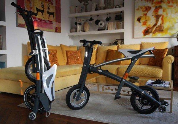stigo mini e scooter zum falten vorgestellt video. Black Bedroom Furniture Sets. Home Design Ideas