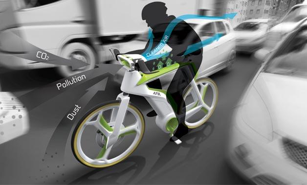 Funktionsweise des Air Purifier Bike / Foto: Lightfog Creative