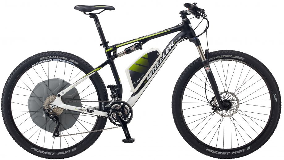 wheeler e bikes 2014 e mountainbikes mit neuem bionx d. Black Bedroom Furniture Sets. Home Design Ideas