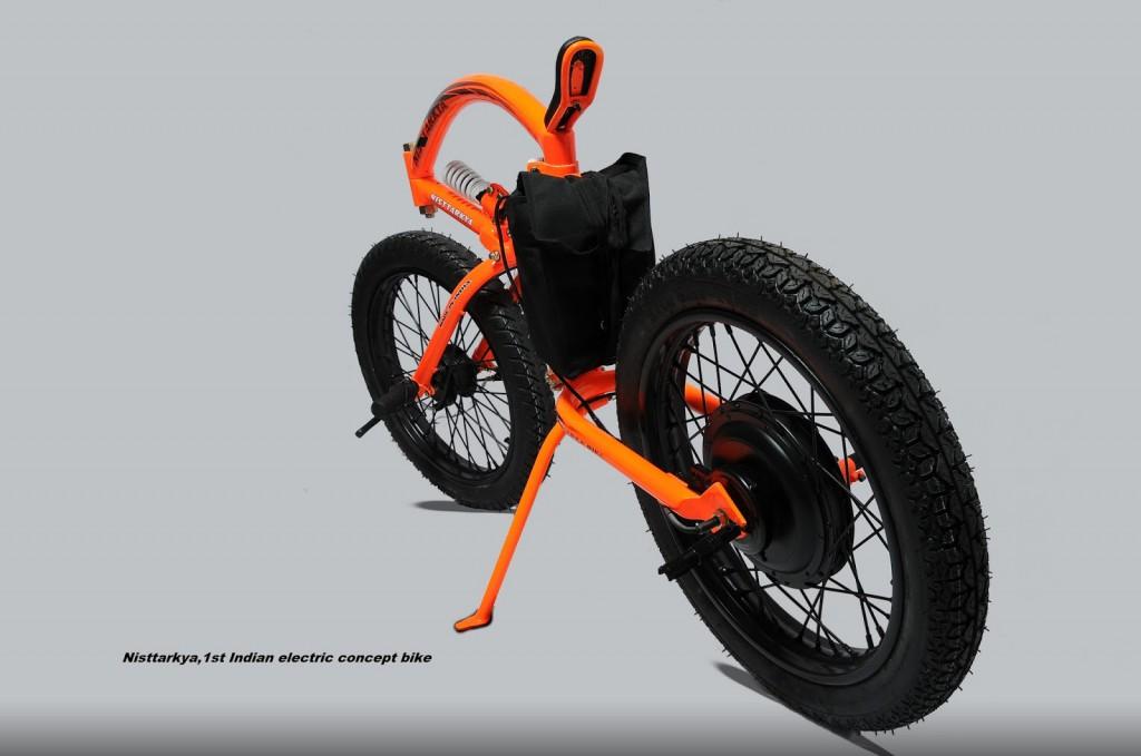 indisches e bike nisttarkya mit ungew hnlicher sitzhaltung. Black Bedroom Furniture Sets. Home Design Ideas