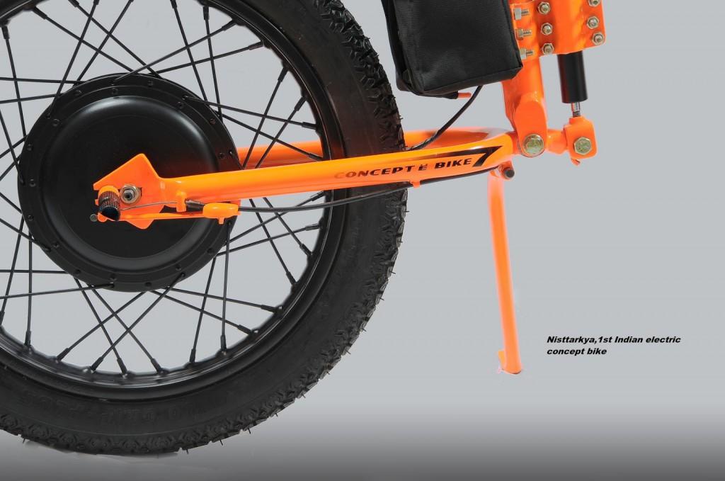 Nisttarkya E-Bike - Motor