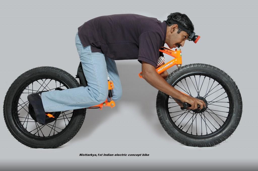 Nisttarkya E-Bike - Sitzhaltung