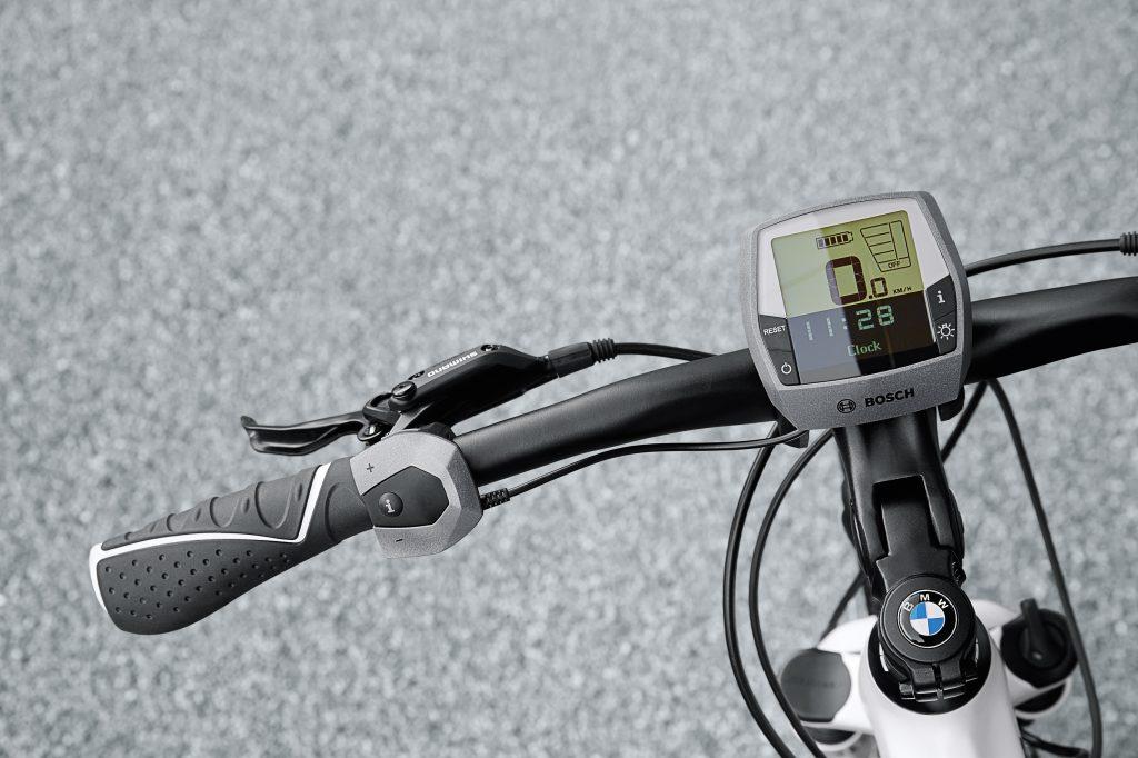 BMW e-Bike Cruise 2014 Lenker mit Bosch Intuvia / Foto: Bosch