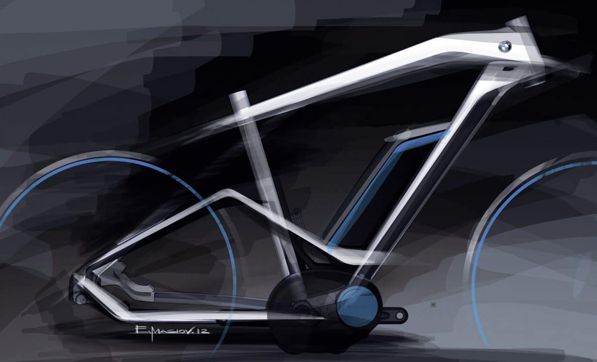 Rahmenentwurf Bmw E Bike Cruise 2014 Ebike News De