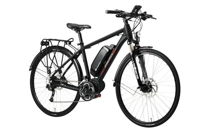 E-Bike mit Mittelmotor von GreenTrans Foto: GreenTrans Corporation