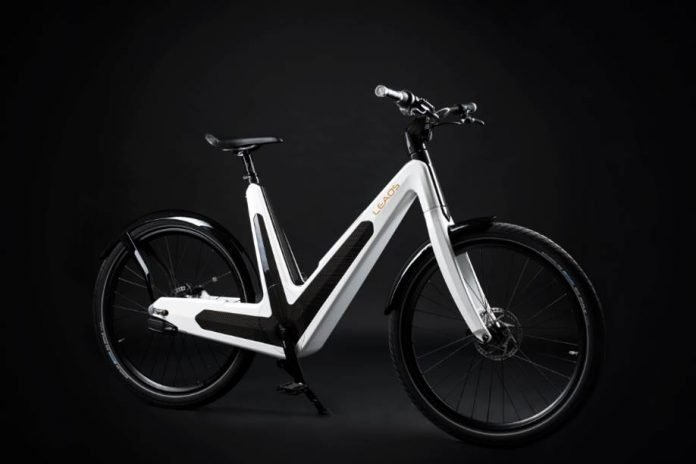 e bike leaos 2 0 berarbeitetes design pedelec mit 45 km. Black Bedroom Furniture Sets. Home Design Ideas