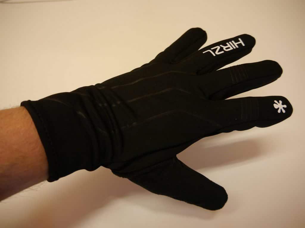 Hirzl Handschuhe übereinander