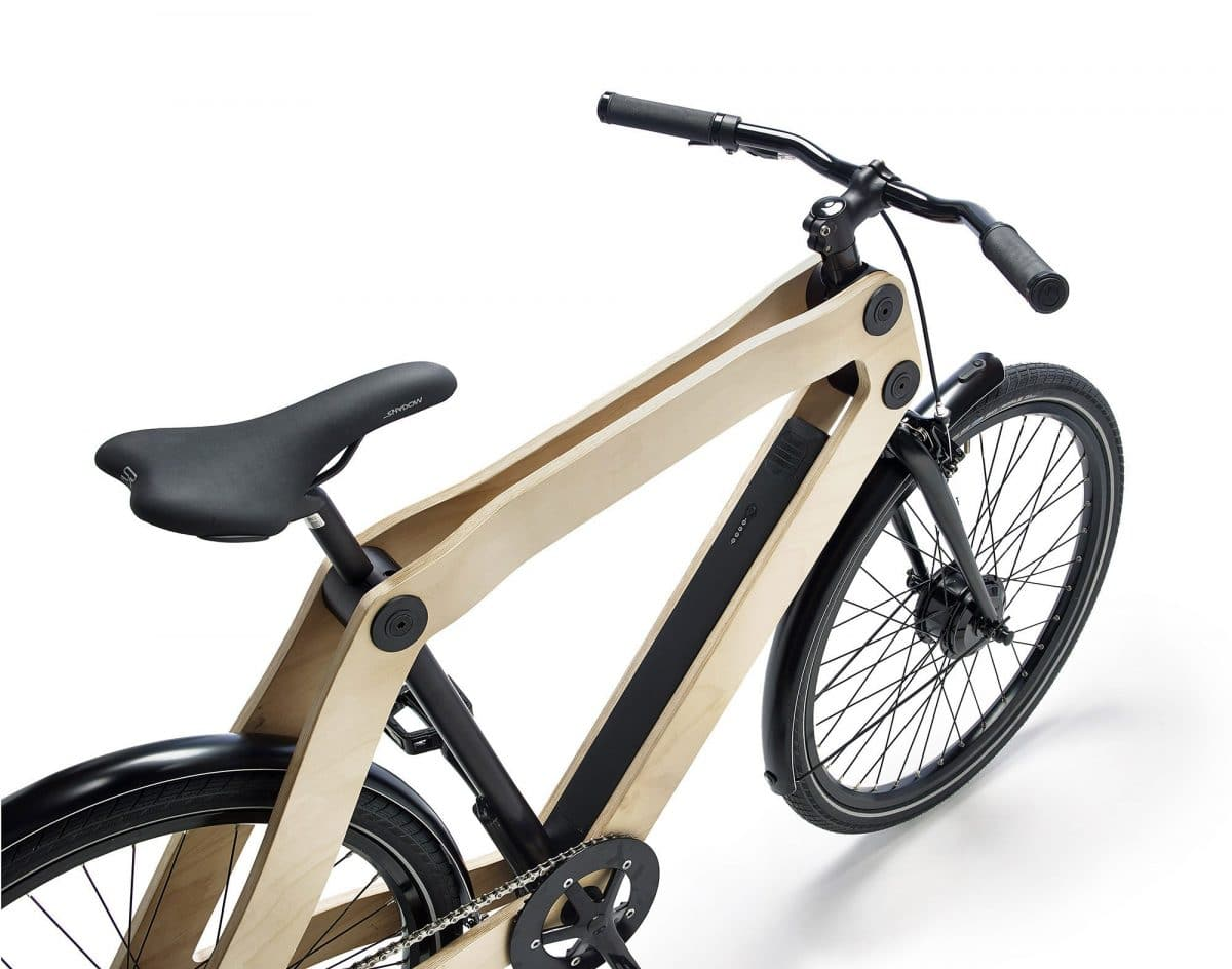 e bike neuheit 2015 protanium stellt holz pedelec. Black Bedroom Furniture Sets. Home Design Ideas