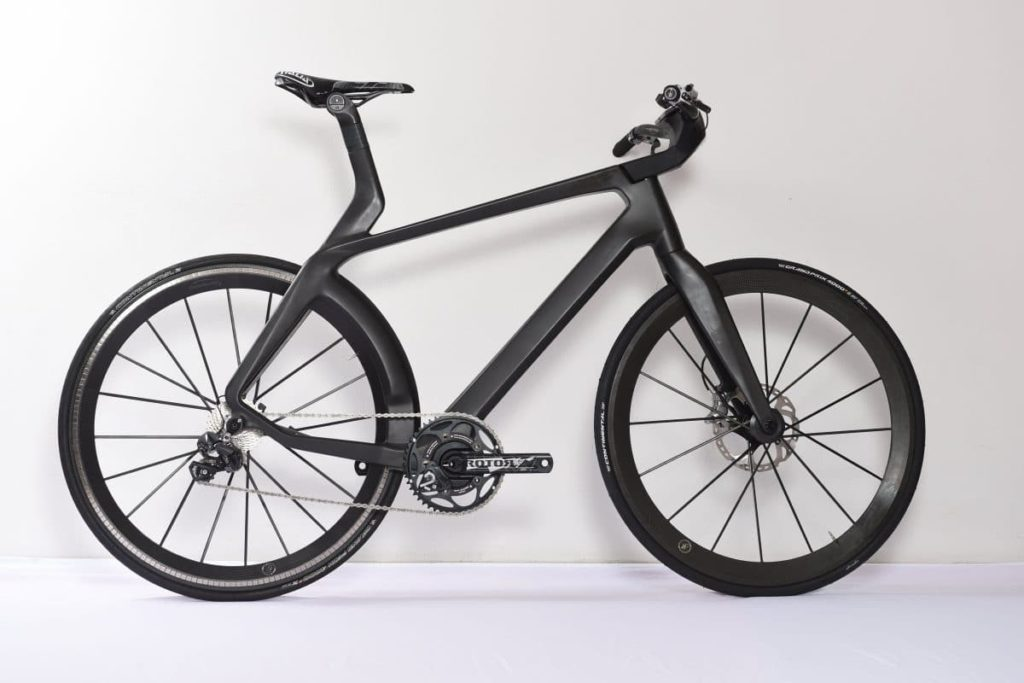 lightweight velocit carbon e bike mit transrapid motor. Black Bedroom Furniture Sets. Home Design Ideas