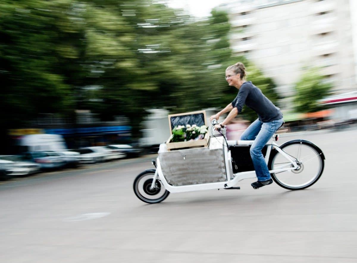 Nachhaltig mobil mit e-Lastenrädern