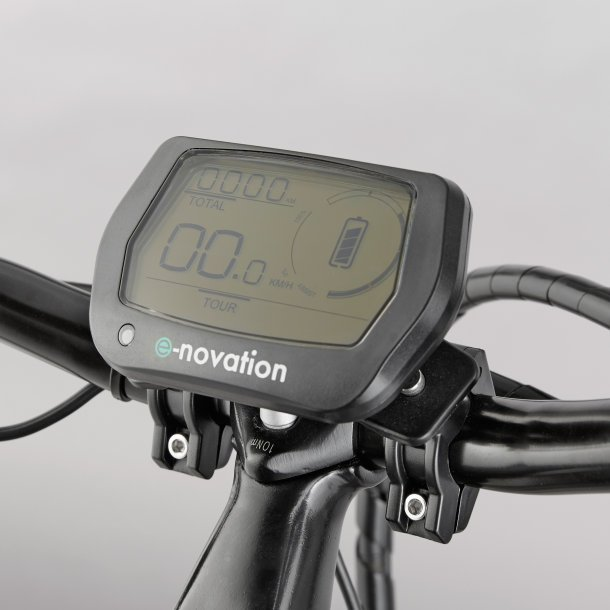 Display des Aldi Nord E-Bikes 2015
