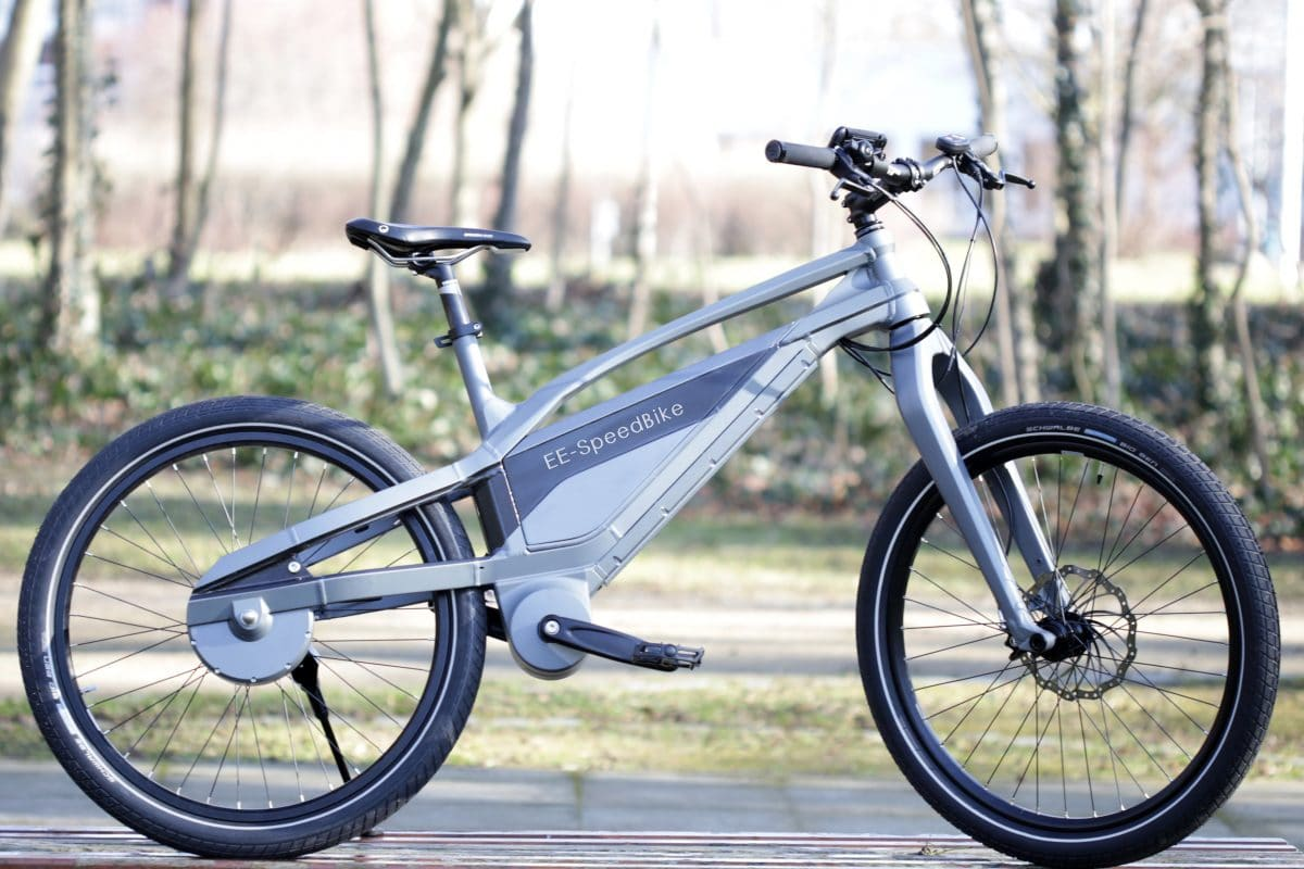 ee speedbike erstes kettenloses schnelles e bike kommt. Black Bedroom Furniture Sets. Home Design Ideas