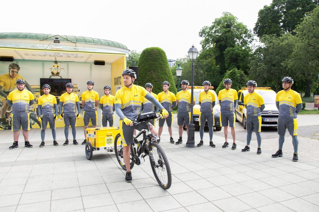 Ein Team von 14 ÖAMTC-Pannenfahrern ist ab Mai 2015 in Wien einsatzbereit