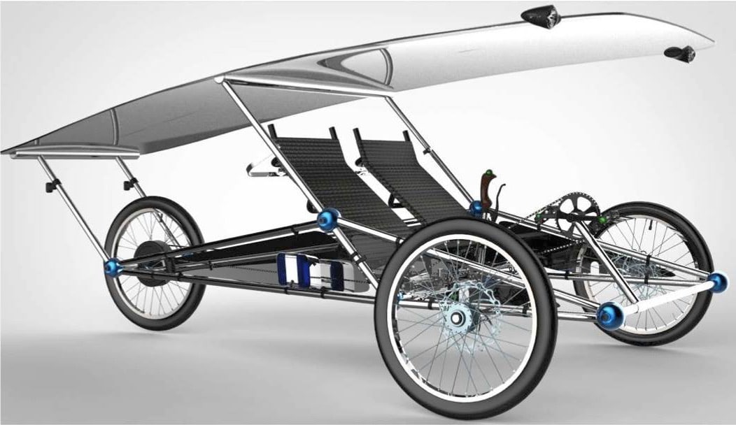 solarmobil selber bauen e bike fahren ohne grenzen. Black Bedroom Furniture Sets. Home Design Ideas
