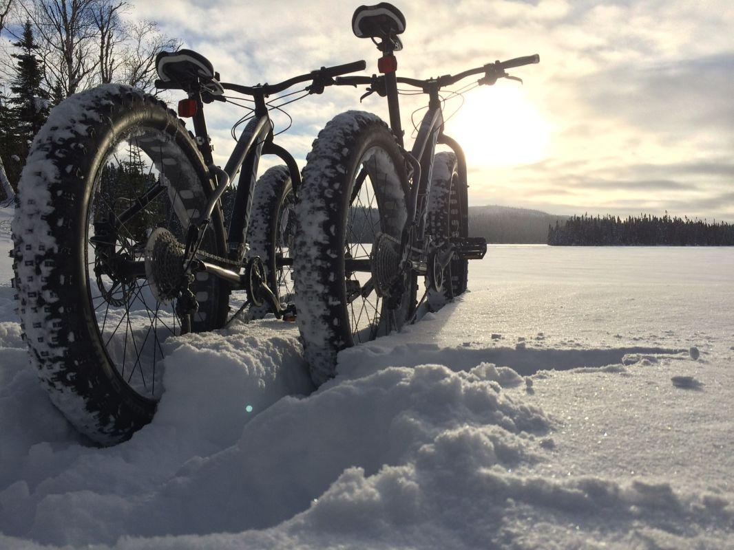 Warm und sicher: E Bike Fahren im Winter ebike
