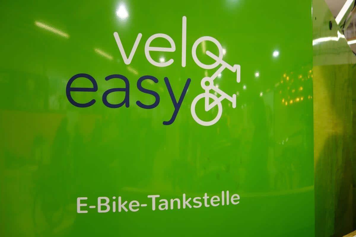 eBike Tankstelle auf der Berliner Fahrradschau