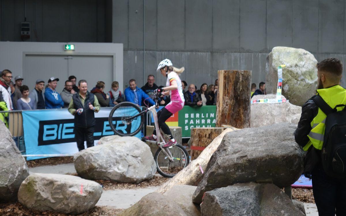 Jumprider auf der Berliner Fahrradschau