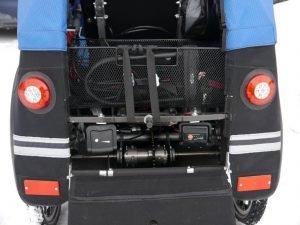Mini-Kofferraum und Beleuchtung