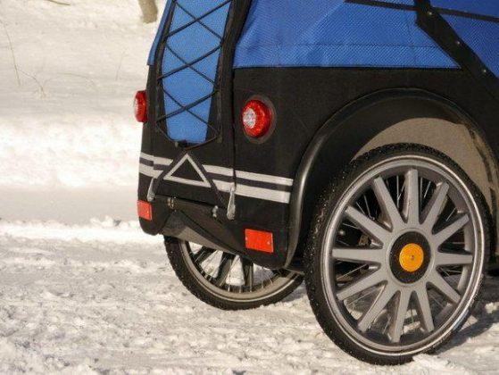 Kofferraum mit optionaler Anhänger-Kupplung