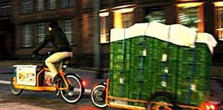 Auch im Dunkeln sicherer Transport mit e-Lastenrädern